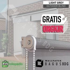 Roller Blinds Outdoor - Chain STD -Solar Screen - termurah !