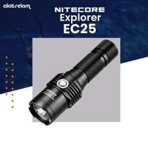 Senter Nitecore Explorer EC25 Cobra Palm-Uses 2 x CR123s or 1 x 18650