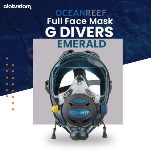 Ocean Reef Full Face Mask G Divers S/M EMERALD