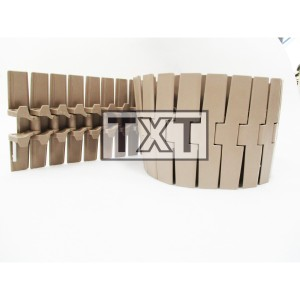 TABLE TOP CHAIN PLASTIC type 882-K750 TAB Curve, W190.5mm @L10feet