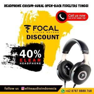 Promo Focal Elear Open Back Headphone