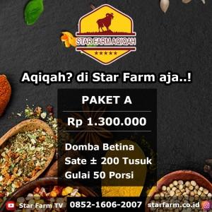 Paket A - Star Farm Aqiqah