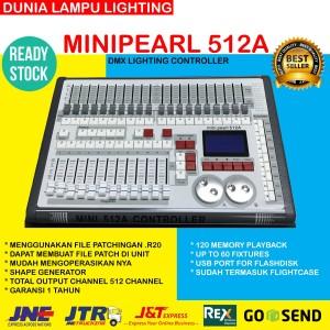 Minipearl 512A Mini pearl 512A dmx 512 Lighting Controller+flightcase