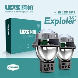 Projector BILED UPS EXPLOLER 3 Inchi Bluefirm Dual Chip Led NEW