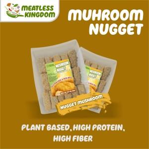 Nugget Jamur Vegan &Vegetarian | Frozen Food Vegan Non Bawang - Besar