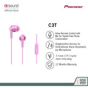 Pioneer Earphone In Ear SE-C3T Garansi Resmi IMS