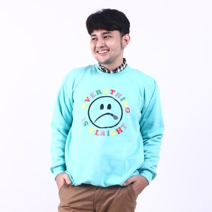 Heyho Sweatshirt Alright Green Tosca