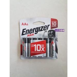 Baterai Energizer Max AA6 | Battery Energizer Max AA isi 6pcs