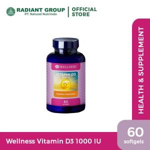 Wellness Vitamin D3-1000 IU