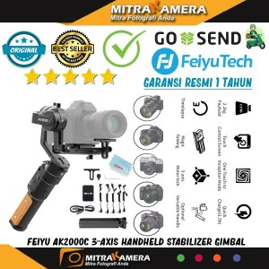 Feiyu AK2000C 3-Axis Handheld Stabilizer Gimbal