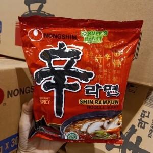 Nongshim Shin Ramyun Noodle Soup | Mie Instan Korea HALAL