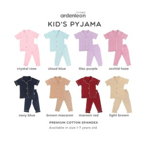 ARDENLEON Unisex Kids Pyjama Polos 2.0