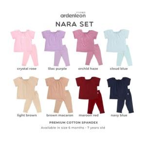 ARDENLEON Girls Nara Set (6 Mo- 4 Yr)
