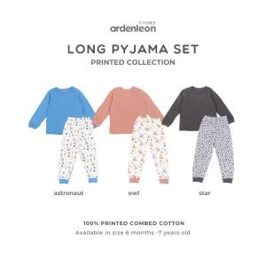ARDENLEON Unisex Long Pyjama (Astronot, Owl, Star)