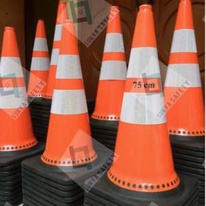 Info Traffic Cone 75 Cm Pvc Kerucut Jalan Orange 75cm Rubber Basic Color Katalog.or.id