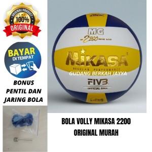 Info Bola Voli Volley Volly Voly Mikasa Mg 2200 Super Gold Katalog.or.id