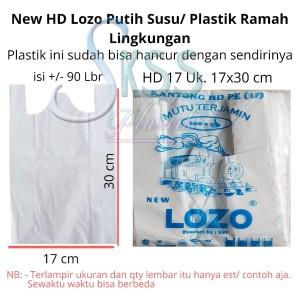 Harga Kantong Plastik Kresek Ramah Lingkungan Motif Thank You Uk 15cm Katalog.or.id