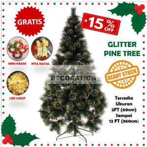 Katalog Pohon Natal Ukuran Tinggi 150cm 5ft Alaska Rainbow Pine Tree Easy D Katalog.or.id