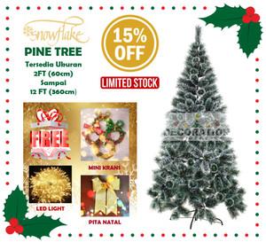 Harga Pohon Natal Ukuran Tinggi 150cm 5ft Alaska Rainbow Pine Tree Easy D Katalog.or.id