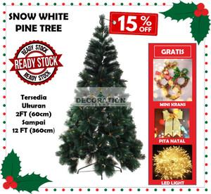 Info Pohon Natal Ukuran Tinggi 150cm 5ft Alaska Rainbow Pine Tree Easy D Katalog.or.id