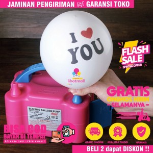 Info Alat Tiup Peniup Pompa Tangan Manual Hand Pump Balon Latex Foil Katalog.or.id