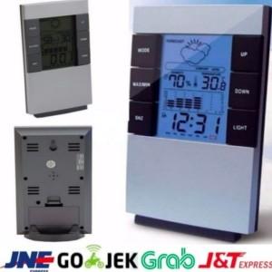 Harga Digital Thermometer Hygrometer Date Clock Kelembaban Suhu Alarm Katalog.or.id