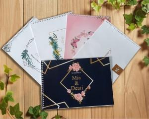 Katalog Buku Tamu Pernikahan Custom Katalog.or.id