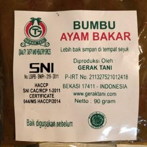 Info Bumbu Ayam Bakar Katalog.or.id