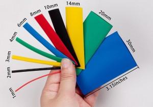 Harga 2mm Hitam Heat Shrink Selonsong Selang Bakar Tube 2 Mm Black Katalog.or.id
