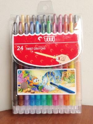 Harga Crayon Titi Putar 24 Warna Katalog.or.id