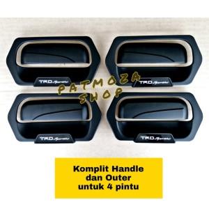 Harga Door Handle Outer Luxury Calya Sigra Hitam Doff Katalog.or.id