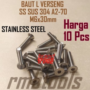 Info Baut L M8x25 Stainless Steel Katalog.or.id