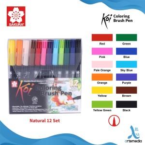 Info Sakura Koi Coloring Brush Pen 6 Gray Set Katalog.or.id