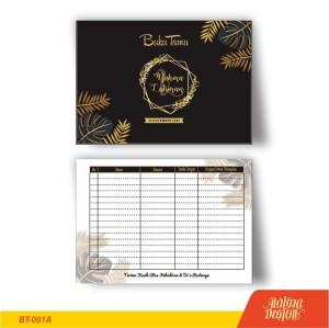 Info Buku Tamu Pernikahan Custom Katalog.or.id
