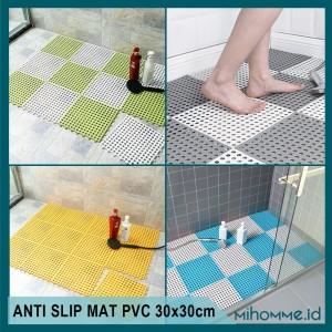 Info Karpet Kamar Mandi Keset Abu Abu Pvc X Type K01 Katalog.or.id
