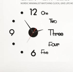 Katalog Jam Dinding Besar Raksasa Dekorasi Minimalist 3d Giant Wall Clock Diy Katalog.or.id