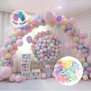Info Balon Latex Macaron Balon Karet Warna Pastel 10 Inch Per Pack Katalog.or.id