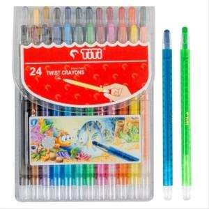 Info Crayon Titi Putar 24 Warna Katalog.or.id