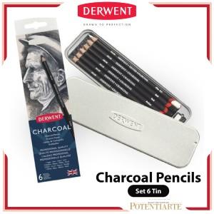 Harga Derwent Charcoal Pencil Dark Katalog.or.id