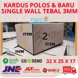 Harga Kardus Box Karton Packing 32 X 25 X 17 Polos Baru Katalog.or.id