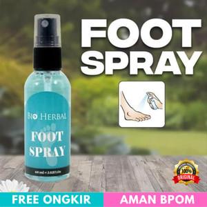 Harga Foot Spray Bio Herbal 60ml Original Bpom Penghilang Bau Kaki Katalog.or.id