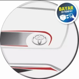 Info Sarung Ban Cover Ban Kulit Imitasi Daihatsu Terios Bordes White Katalog.or.id