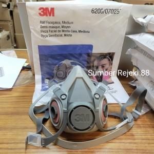 Harga Masker 3m 6200 Reusable Respirator Mask Katalog.or.id