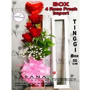 Harga Flower Box Bunga Flanel Kado Ultah Graduation Anniversary Valentine Katalog.or.id