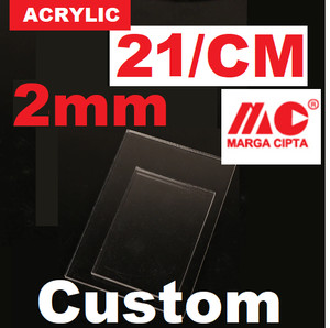 Info Akrilik Acrylic Lembaran Custom Bening 2mm Katalog.or.id