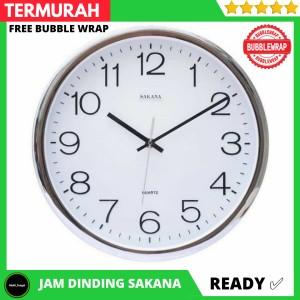 Info Jam Dinding Sakana 080 Crome Original Katalog.or.id
