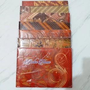 Katalog Souvenir Buku Tamu Renda Warna Katalog.or.id
