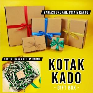 Harga Gift Box Kotak Kado Paket Dengan Gift Tag Free Pita Katalog.or.id