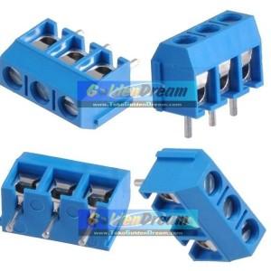 Katalog Terminal Block 3 Pin Skrup Screw Pcb Blok 3p Pitch 5mm Cable Connector Katalog.or.id