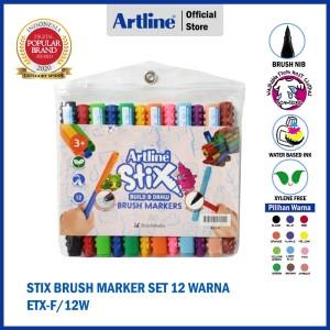Info Artline Stix Brush Marker Katalog.or.id